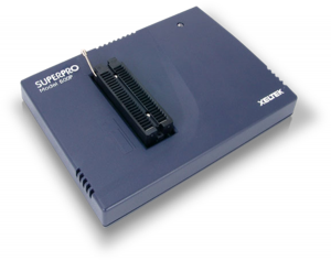 SuperPro 610P is a high performance and low cost 48 pin programmer with USB2.0 interface which comes with free software updates.