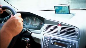 Car dashboard - where most automotive control systems are placed.