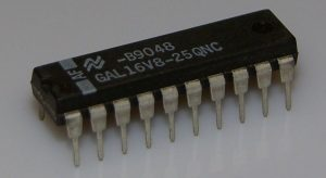 A GAL16V8 programmble device.